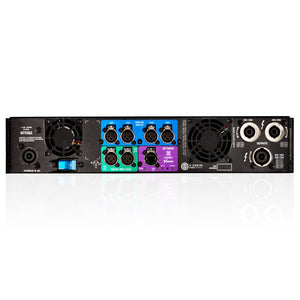 Crown I-Tech 4x3500HD 4-Channel Tour Sound Amplifier OMNIDRIVEHD 691991008023 rear back view