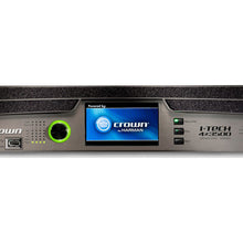 Load image into Gallery viewer, Crown I-Tech 4x3500HD 4-Channel Tour Sound Amplifier OMNIDRIVEHD 691991008023 closeup screen view