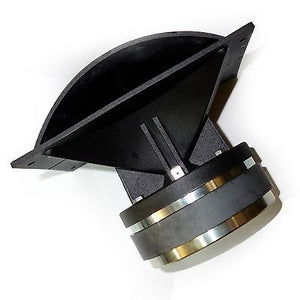 Beyma CP25 High Compression Tweeter with Horn 25 Watt RMS 8-ohm CP-25 796152475666 side view