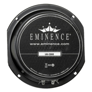 Eminence LA6-CBMR 6.5-inch Sealed Back Speaker 150 Watt RMS 8-ohm line array rear back view