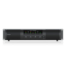 Load image into Gallery viewer, Behringer NX4-6000 Lightweight 4-Channel 6000W Class-D Power Amplifier NX46000 653341314932 front