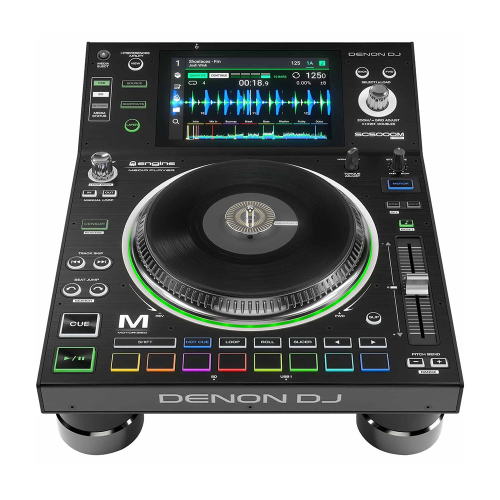 Denon DJ SC5000M Prime DJ Media Player with Motorized Platter & 7-inch Multi-Touch Display 694318023785 main pic photo hotbeatnewyork
