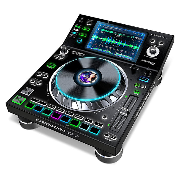 "Denon DJ SC5000 Prime Professional DJ Media Player with 7"" Multi-Touch Display - 694318021392"