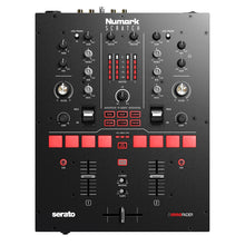 Load image into Gallery viewer, Numark Scratch 2-Channel DJ Mixer for Serato DJ Pro 676762167116 front top view