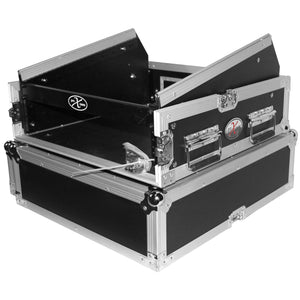 ProX T-2MRSS 2U Rack x 10U Top Mixer DJ Combo Rack Flight Case 753182906263 nearby dj equipment for sale main front view