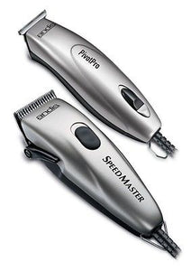 Andis Professional Speed Master Clipper + Pivot Pro Trimmer Combo 23965