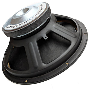 Celestion TF1530 T5429AW45 15-inch Speaker 400 Watt RMS 4-ohm Side View