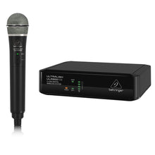 Load image into Gallery viewer, Behringer ULTRALINK ULM300MIC 2.4 GHz Digital Wireless Handheld Mic System 653341315038 main