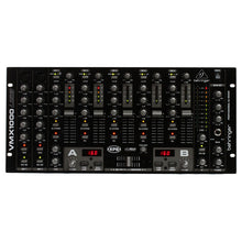 Load image into Gallery viewer, Behringer VMX1000USB 7-Channel Rack-mountable DJ Mixer 705105163482 front view