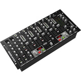 Behringer VMX1000USB 7-Channel Rack-mountable DJ Mixer 705105163482 side view