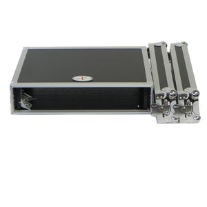 "Prox X-2UE 2U Deluxe Effects Rack 14"" deep Rail to Rail with handles 654367296219 local nearby pickup"