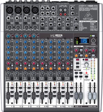 Load image into Gallery viewer, Behringer XENYX X1622USB 16-Input USB Audio Mixer with Effects 736211583246 100-240V front nearby