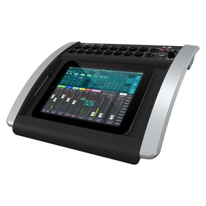 Behringer X18 Compact 18-Input Digital iPad/Tablet Mixer w/ Midas Preamps 0696859053849 front side view