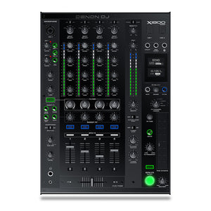 Denon DJ X1800 Prime Professional 4-Channel DJ Club Mixer with Smart Hub - 694318022450