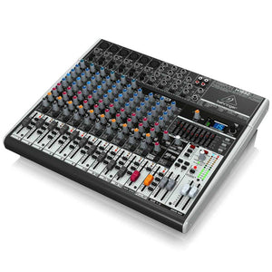 Behringer XENYX X1832USB 18-Input USB Audio Mixer with Effects 736211583147 right side view