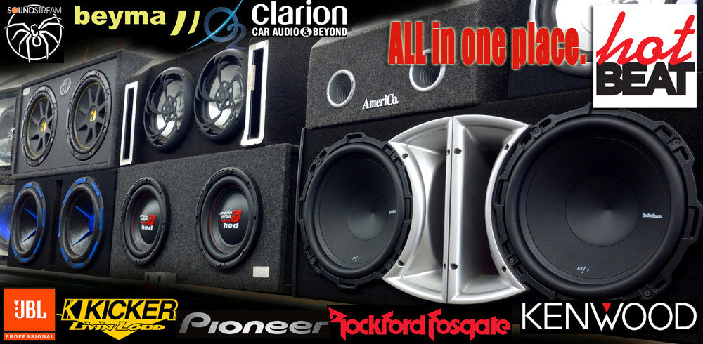 Car Audio Systems All-In-One Place