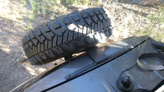 WJ and XJ Hatch Mounted Tire Carriers