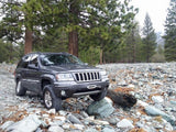 WJ Hidden Winch Mount
