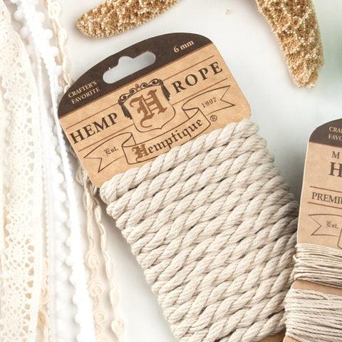 Braided Hemp Rope