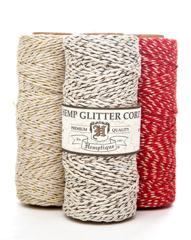 Metallic Hemp Cord Spools