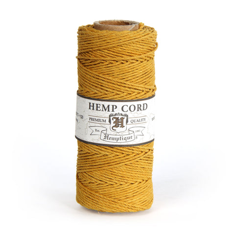 Solid Color Hemp Cord Spools
