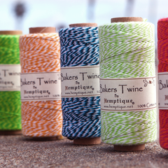 Cotton twine spools