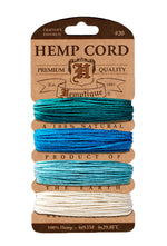 Hemp Cord Card 20lb. - 0.5mm - 41 Shades Available