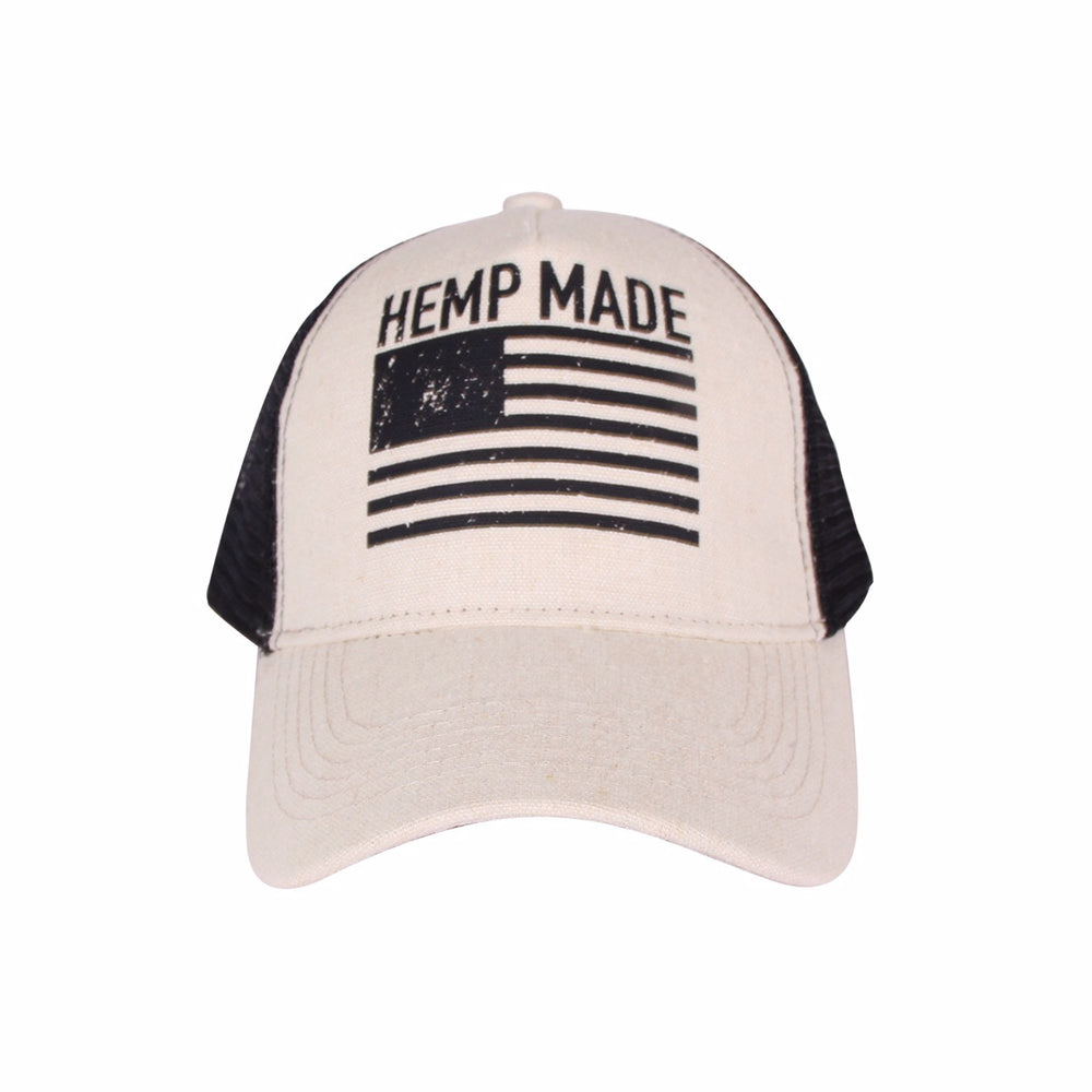 Trucker Hat HEMP MADE (Natural)