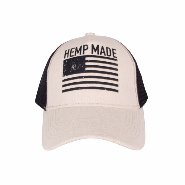 Trucker Hat HEMP MADE (Natural) - Hemptique