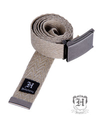 Hemp Belt - Herring Bone Webbing - Hemptique