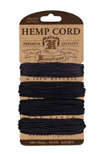 Hemp Cord Card Assorted Weight  10 lb./20 lb./36 lb./48 lb. - 2 Shades Available