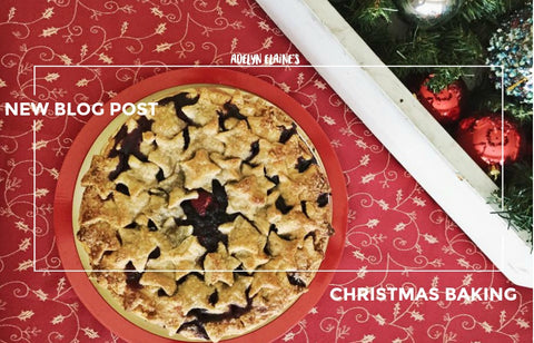 CHRISTMAS BERRY PIE