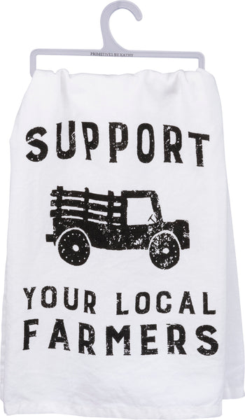 Support Your Local - Dish Towel