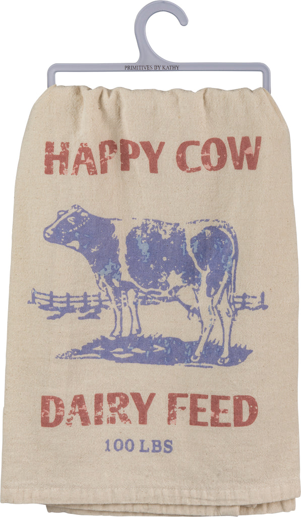 Happy Cow Dairy Feed  - Dish Towel