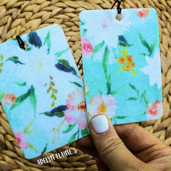 Gypsy - Watercolor Floral Print Car Scents