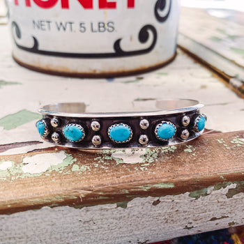 In Lonesome Dove - Genuine Turquoise