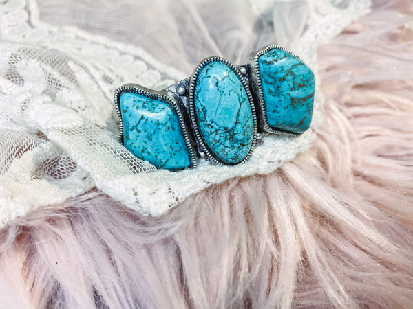 Pearland - Turquoise Cuff