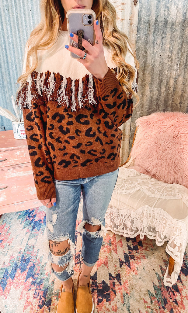 Whiskey Glasses Sweater