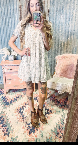 Sweet Sundays - Babydoll Dress