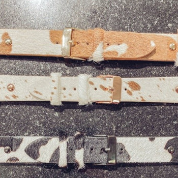 Cowhide Apple Watch Bands