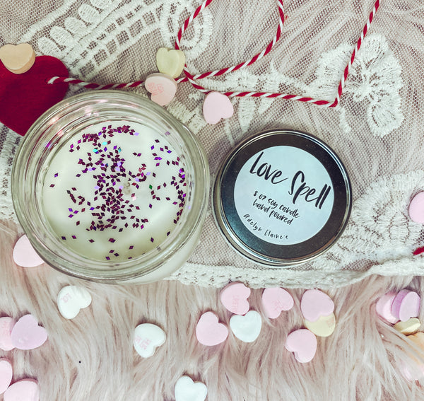Love Spell -Valentines Candle
