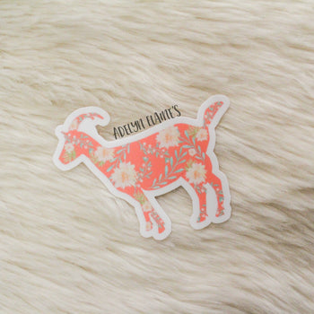 Miss. Billy Goat Sticker