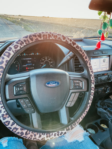 Leopard - Steering Wheel Cover
