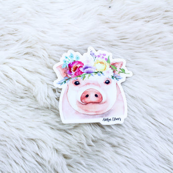 Miss. Petunia Sticker