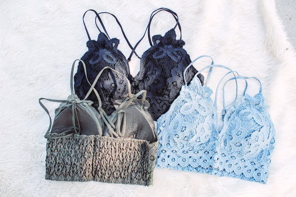 Long Time Gone - Lace Bralette