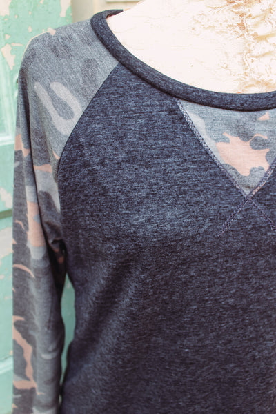 Better Get to Livin' - Camo Long Sleeve
