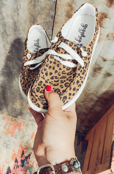 Wide Open Spaces Slip On's - Leopard
