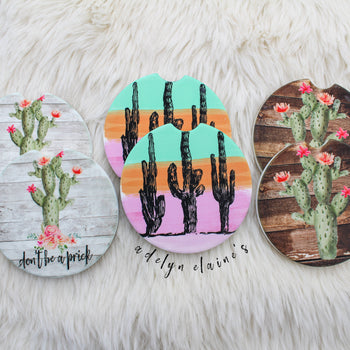 Cactus - Car Coasters