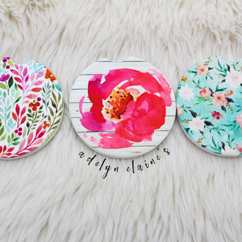 Flower Child  - Car Coasters