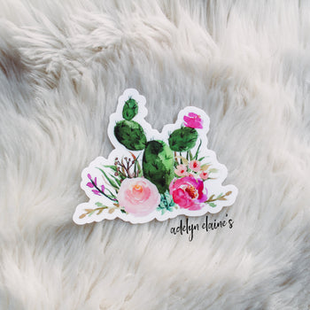Cactus Bouquet Sticker